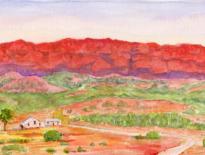 Sketch-Flinders-Ranges-2