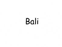 Bali-label