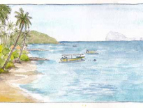 Beach at Candidasa