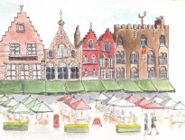 Bruges-Belgium