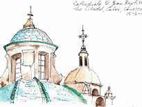 Cathedral-St-Jean-Baptiste-The-citadel-Calvi-Corsica