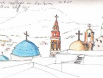 Church-rooftops-in-Santorini