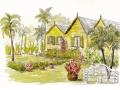 Romney Manor, St Kitts, Caribbean