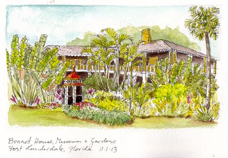 Bonnet House & Gardens, Florida